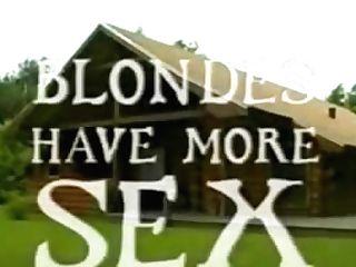 Blondes Have More Hook-up (dansk Antique Porno)