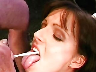 Steaming Hot German Retro Female Jessy And Her Gfs Are Liking Blowjbs