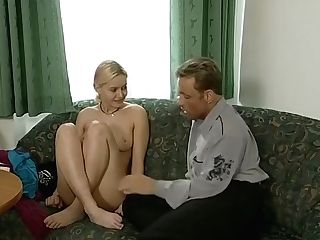 Blonde Retro Teenage Street Casting Interview - What Series Is This From?